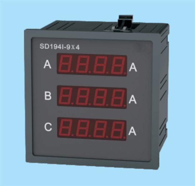 Digital Three-Phase Meter