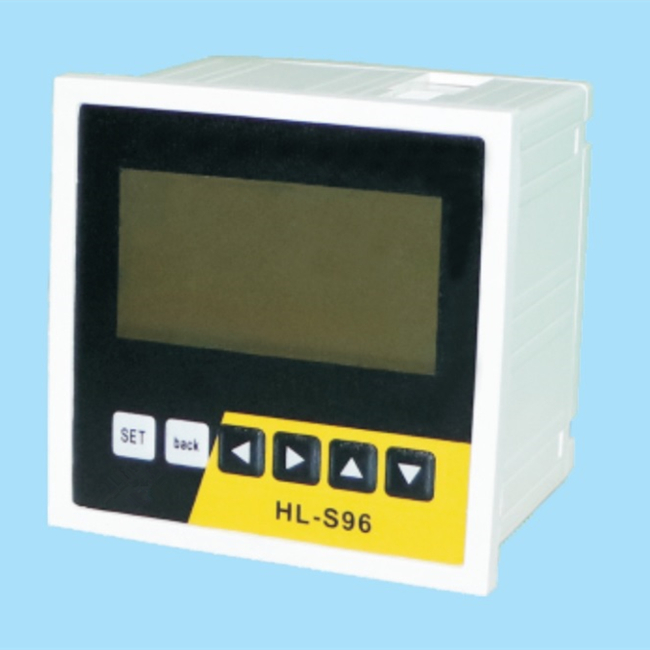 3 phase LCD square multi function meter